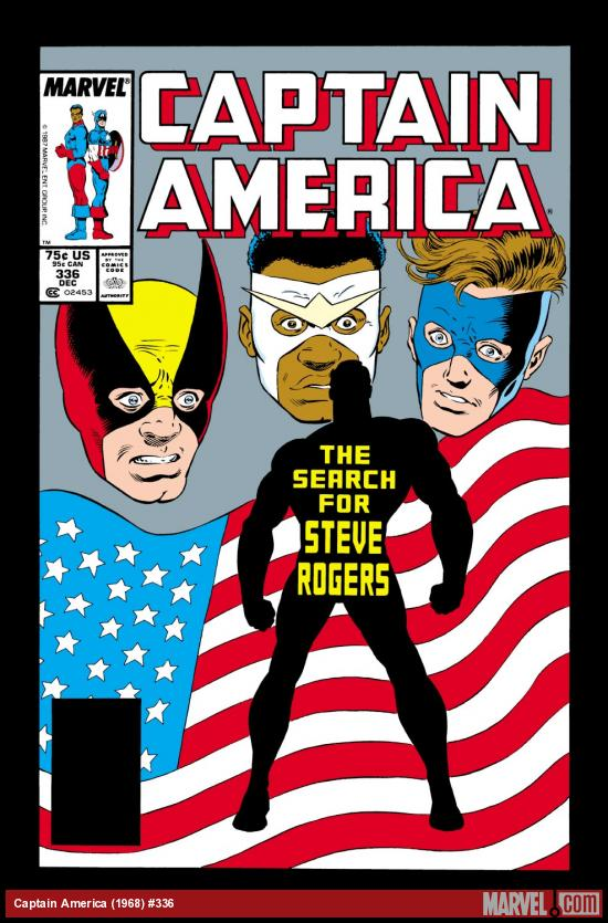 Captain America (1968) #336 Cover