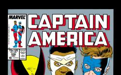 Captain America (1968) #336 Cover