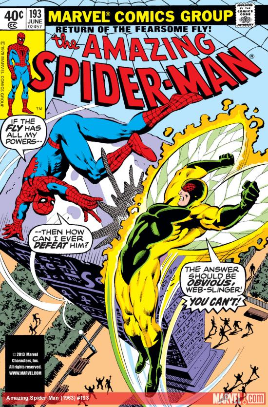 Amazing Spider-Man (1963) #193 Cover