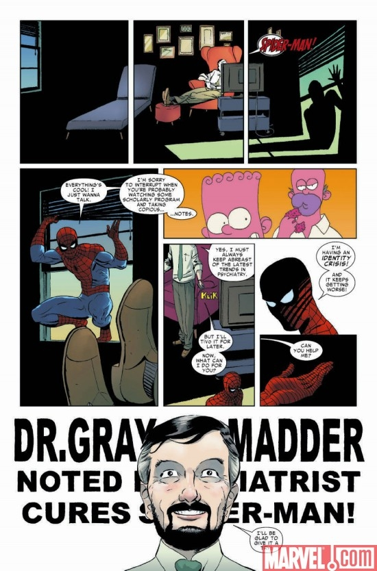 AMAZING SPIDER-MAN #600, page 7