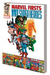 Marvel Firsts: Wwii Super Heroes (Trade Paperback)