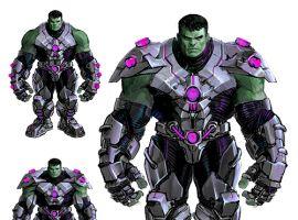Open the Indestructible Hulk Sketchbook