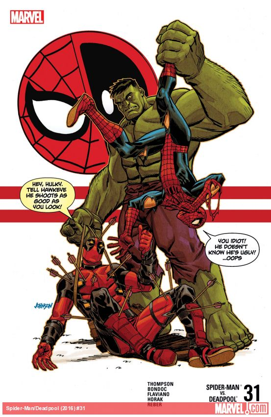 Spider-Man/Deadpool (2016) #31