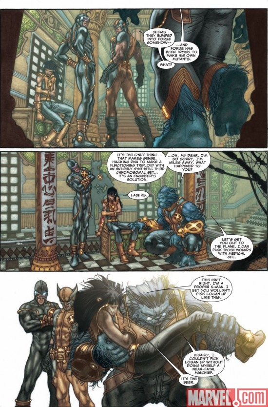 ASTONISHING X-MEN #29 preview page