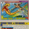 Human Torch vs. Sub-Mariner, Card #97