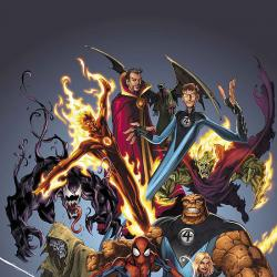 OFFICIAL HANDBOOK OF THE ULTIMATE MARVEL UNIVERSE 2005 (2007) #1 COVER
