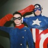 Marvel Costuming: Damien & Robert as Captain America & Bucky