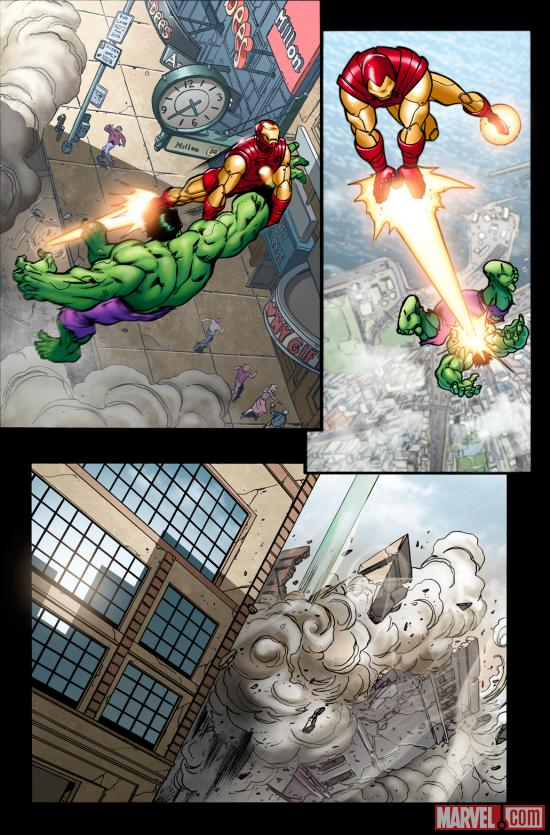 Avengers: Season One preview art by Andrea Divito