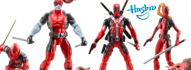 Hasbro Unveils Deadpool Corps Figure Set