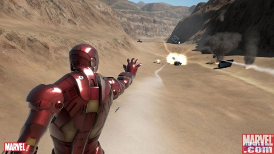 Iron Man Video Game Xbox 360 Screenshot