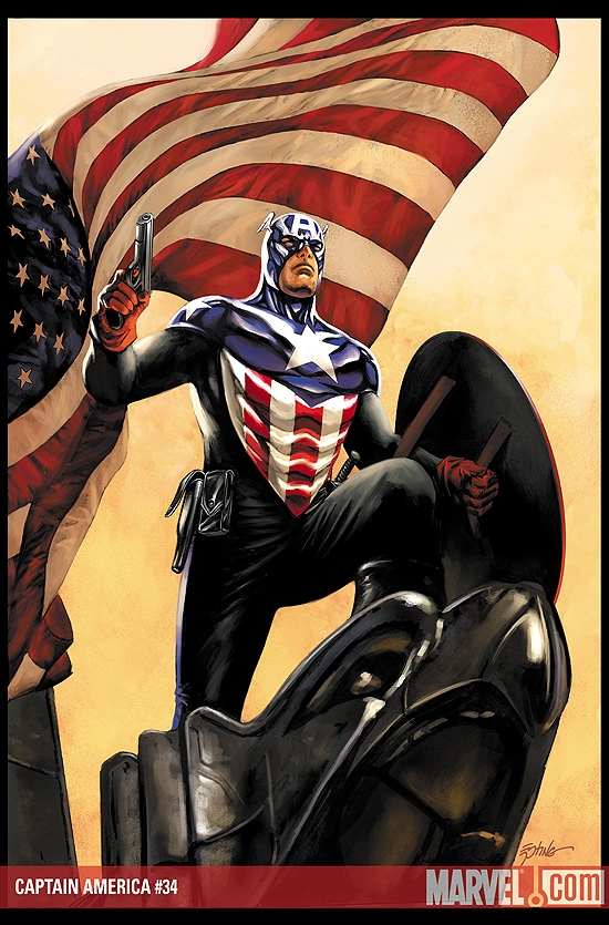 CAPTAIN AMERICA #34