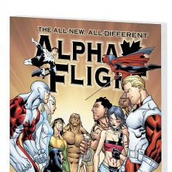 ALPHA FLIGHT VOL. 2: WAXING POETIC COVER