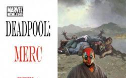 DEADPOOL: MERC WITH A MOUTH #11 cover by Arthur Suydam