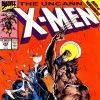 UNCANNY X-MEN #258 cover by Jim Lee