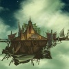 Background art of the Port Hole from Thor: Tales of Asgard