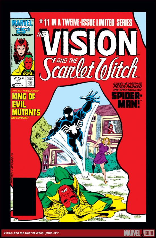 Vision and the Scarlet Witch (1985) #11 Cover