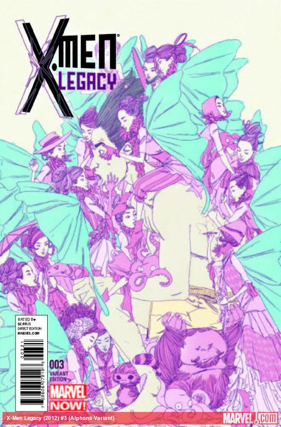 X-MEN LEGACY 3 ALPHONA VARIANT (NOW, 1 FOR 50)