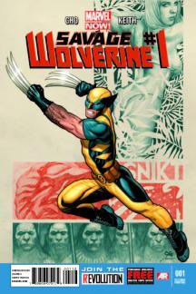 Savage Wolverine #1  (2nd Printing Variant)