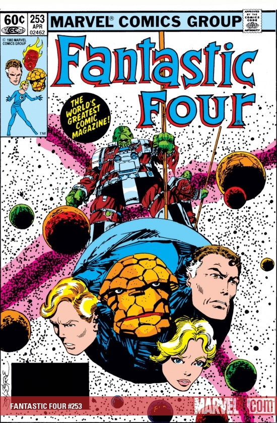 FANTASTIC FOUR #253