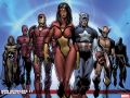 New Avengers (2004) #7 Wallpaper