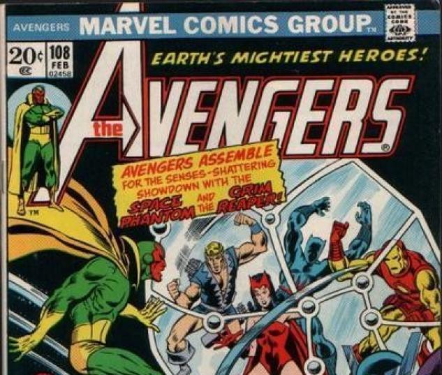 AVENGERS #108 cover