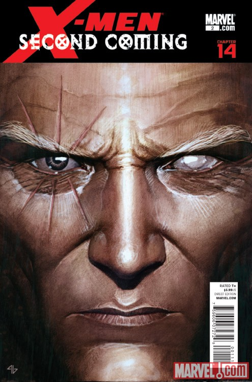 X-MEN: SECOND COMING #2 cover by Adi Granov