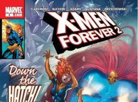 X-MEN FOREVER 2 #4 cover by Tom Grummett