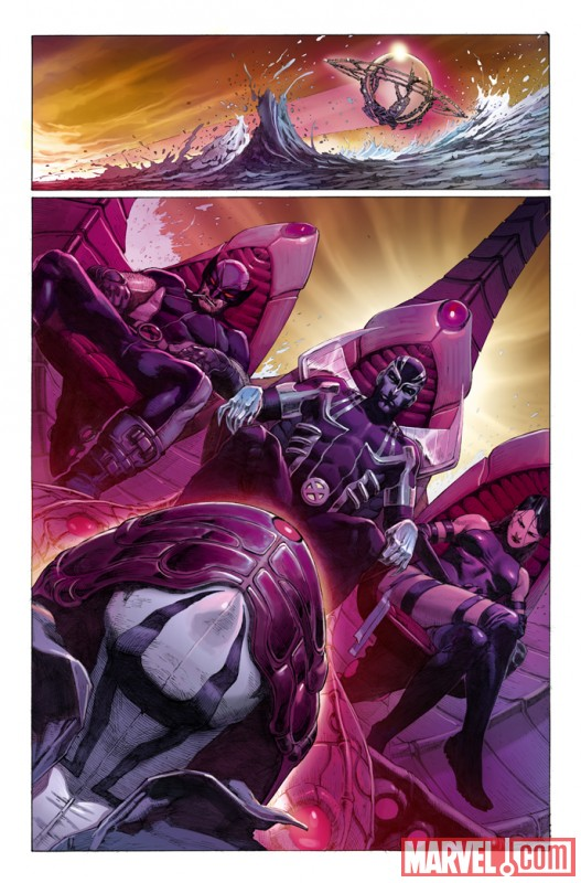 UNCANNY X-FORCE #1 preview art by Jerome Opena 3