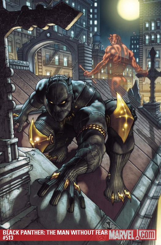 Black Panther: The Man Without Fear (2010) #513