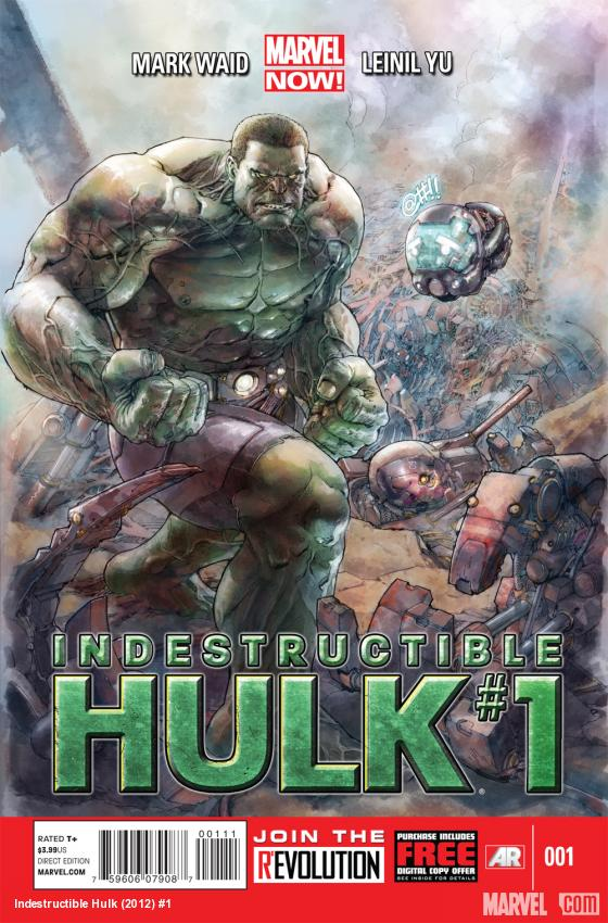 Indestructible Hulk #1 cover by Leinil Yu