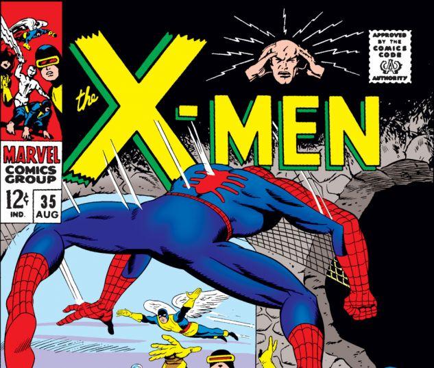 Uncanny X-Men (1963) #35 Cover