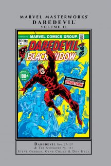 Marvel Masterworks: Daredevil Vol. 10 (Hardcover)
