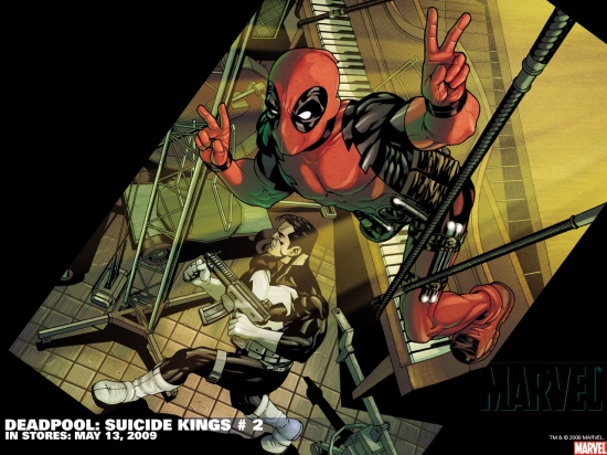 Deadpool: Suicide Kings (2009) #2 Wallpaper