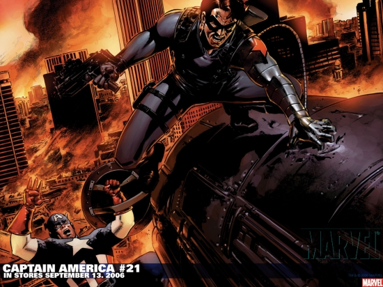 Captain America (1998) #21 Wallpaper