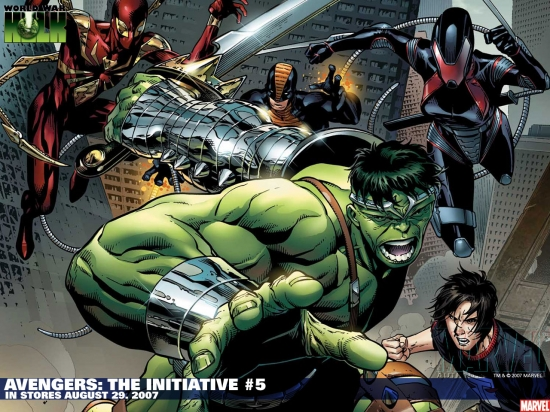 Avengers: The Initiative (2007) #5 Wallpaper