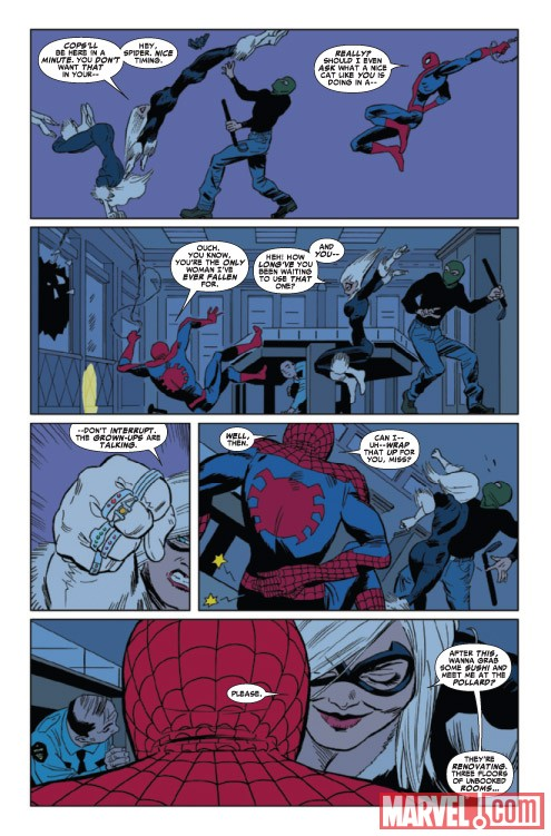 AMAZING SPIDER-MAN PRESENTS: BLACK CAT #1 preview art by Javier Pulido