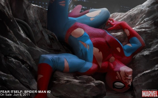Fear Itself: Spider-Man #2 Wallpaper