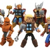 New Marvel Minimates Featuring Captain America and Thor