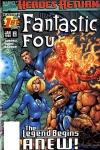 Fantastic Four (1997) #1 cover by Alan Davis