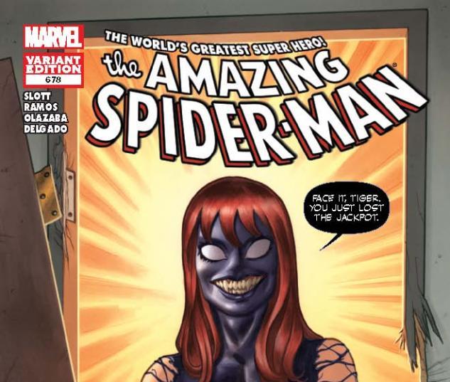 AMAZING SPIDER-MAN 678 VENOM VARIANT