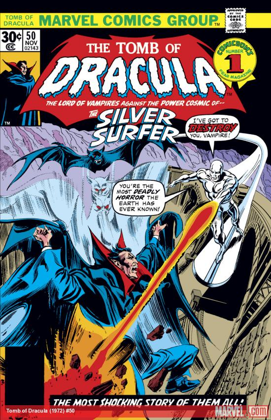 Tomb of Dracula (1972) #50 Cover