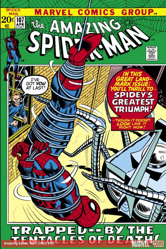 Amazing Spider-Man (1963) #107 Cover