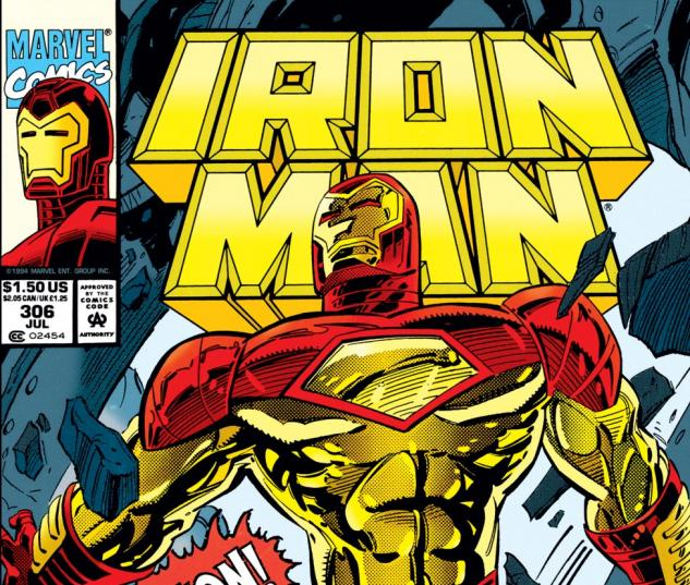 Iron Man (1968) #306 Cover