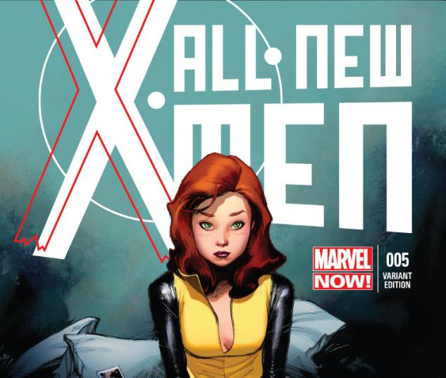 cover from All-New X-Men (2012) #5 (TBD ARTIST VARIANT)