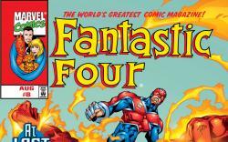 Fantastic Four (1998) #8 Cover