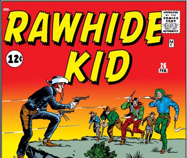 Rawhide Kid (1960) #26 Cover