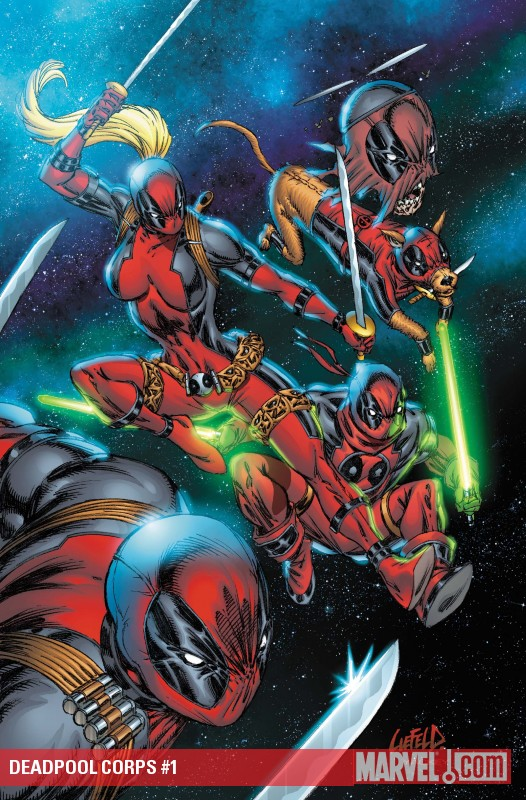 Deadpool Corps #1 cover by Rob Liefeld
