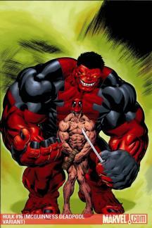 Hulk #16  (MCGUINNESS DEADPOOL VARIANT)