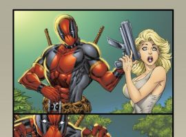DEADPOOL #900 art by Rob Liefeld