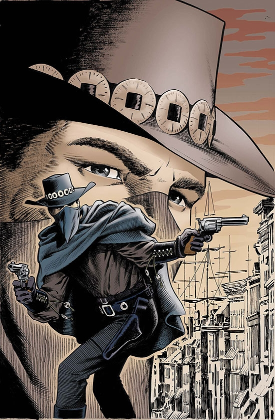 MARVEL WESTERNS: (1940) #4 COVER